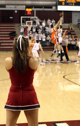 basketball cheers for high school