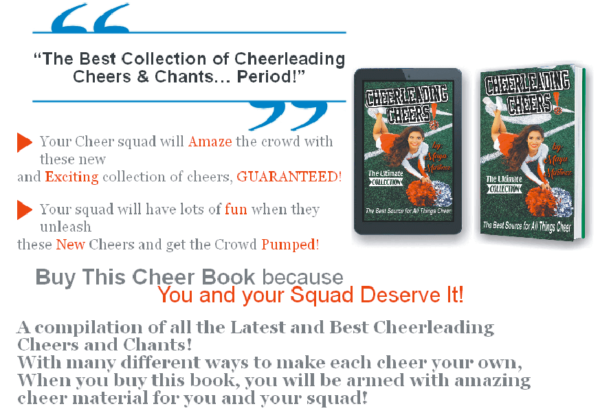 cheer book