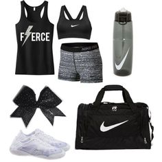 Cheer tryout outfit